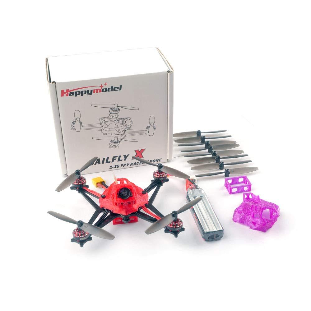 Happymodel Sailfly-X 105 milímetros Crazybee F4 PRO Controlador de Vôo AIO V2.1 2-3 S FPV Micro Corrida zangão BNF PNP 25 mW VTX 700TVL Câmera