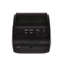 2Inch Standby zj-5802 Android 4.2.2 Bluetooth Wireless Mobile 58mm Mini takeaway Thermal Receipt Printer Portable with SDK