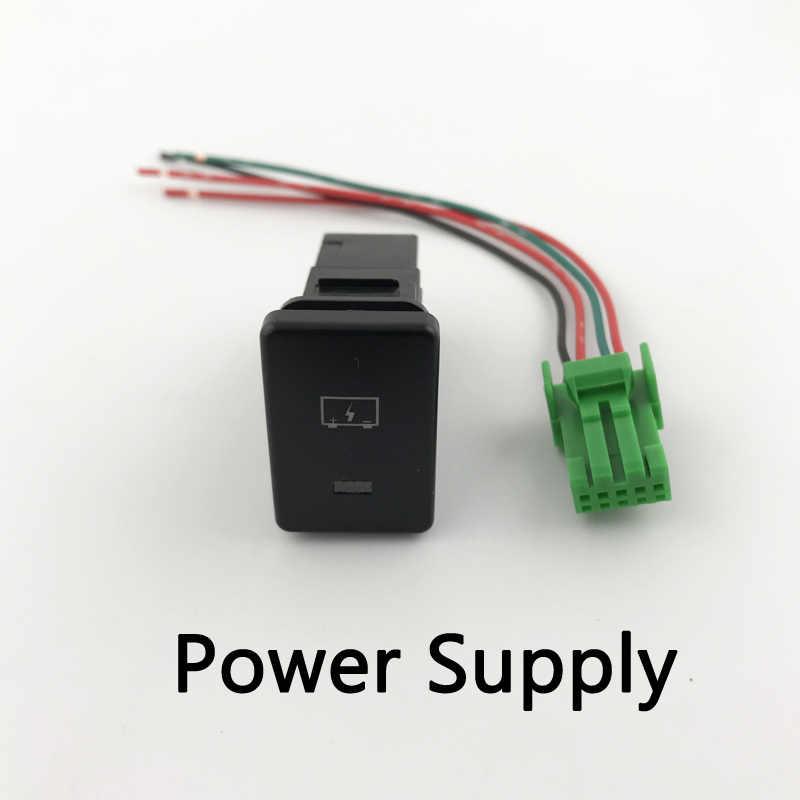 Antibrouillard LED DRL caméra enregistreur moniteur Radar Parking hayon alimentation bouton de commutation pour Mitsubishi Eclipse Cross
