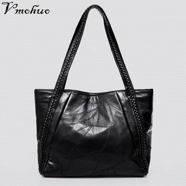 VMOHUO Women's Leather Bags Handbags Ladies Bags For Women 2018 Luxury Briefcase Female Big Bag Brand Top-Handle Bag Sac A Main