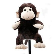 Golf sopası başlığı başlık erkek kulüpleri 460cc hayvan komik maymun koruma kapağı ücretsiz kargo