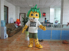 sports event mascot costumes cartoon animal mascot costumes 3D hair