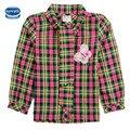 Novatx F3942 девочка одежда топы печати дети девушка футболки nova бренд детской одежды мультфильм белая футболка для девочек новый