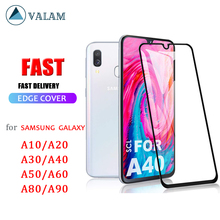 Tempered Glass Screen Protector For Samsung galaxy A40 A50 A10 A20 A70 A30 Protective glass Full Cover Galaxy A10 A40 A51 Glass