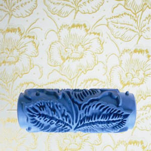Roller Decorative Rubber Wall-Painting Flower-Pattern DIY 3D 5-085Y Hot-Sale