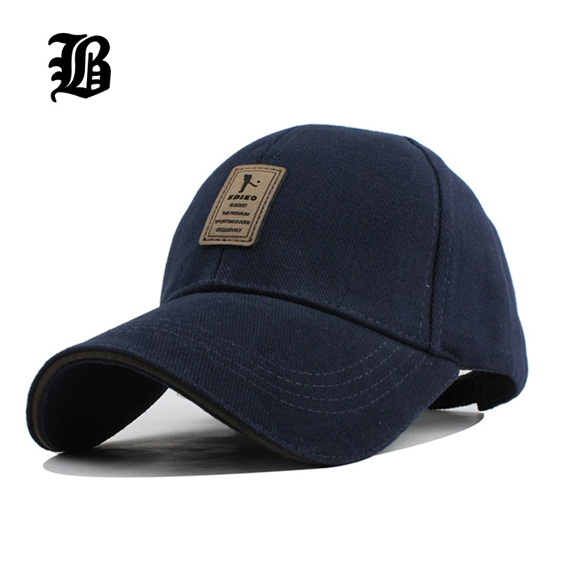 [FLB] 100% Cotton Baseball Cap Fitted Snapback Adjustable Simple Solid Hats For Men Women Bone Gorras Casquette Chapeu Wholesale