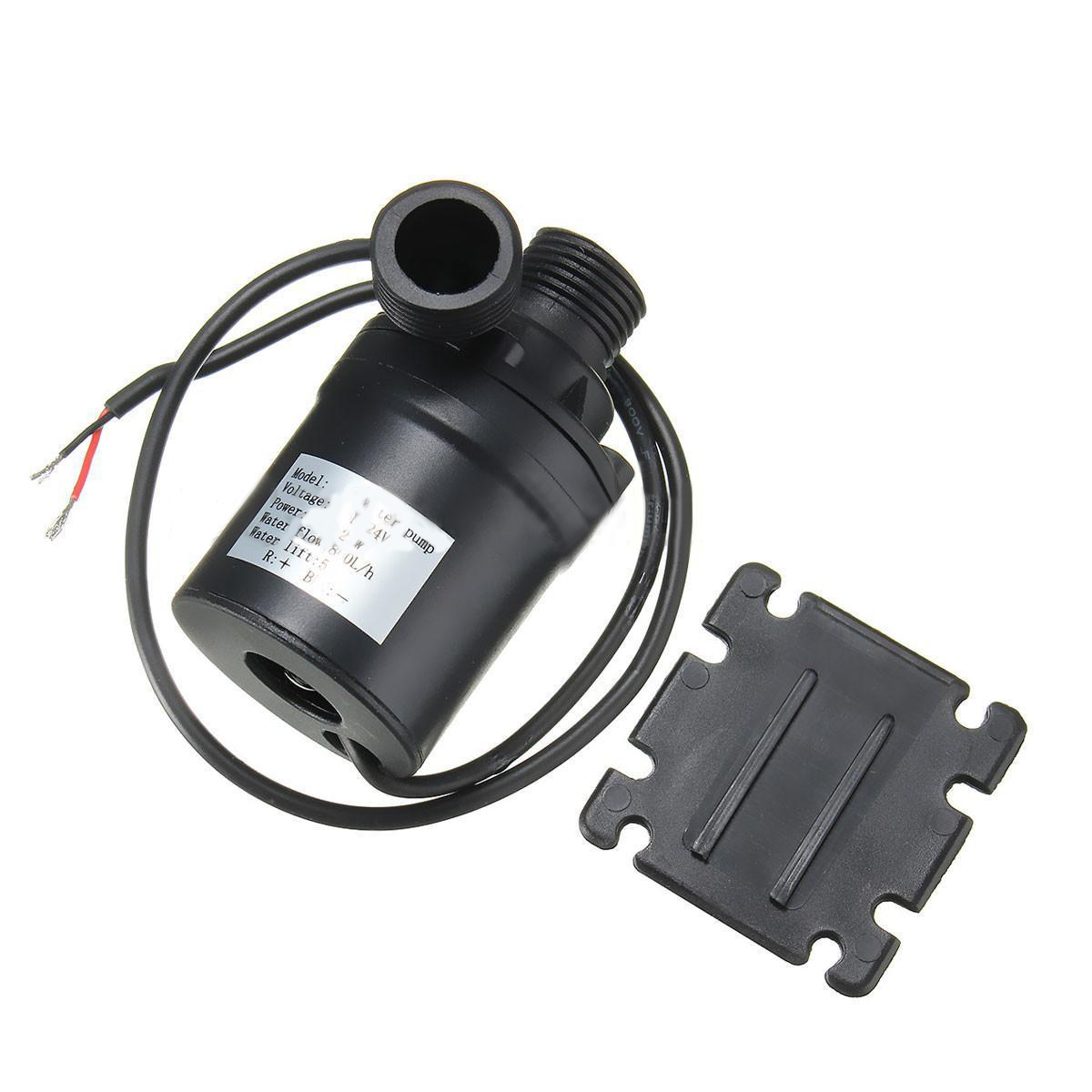 все цены на 1pc Black Brushless Water Pump High Efficiency ZYW680 Mini Solar Water Circulation Pump 800L/H DC 12V-24V
