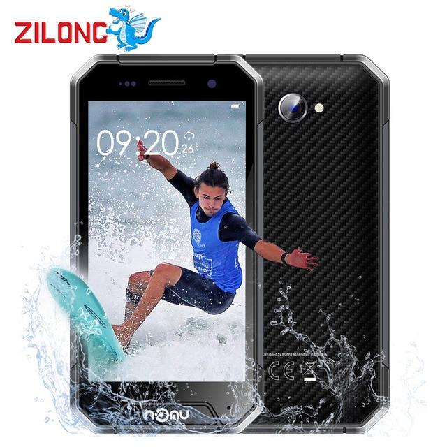 "Nomu S30 MINI 4G LTE Smartphone IP68 Water Dust Shockproof Android 7.0 MTK6737T Quad Core 3GB RAM 32GB 3000mAh 4.7"" Mobile Phone"