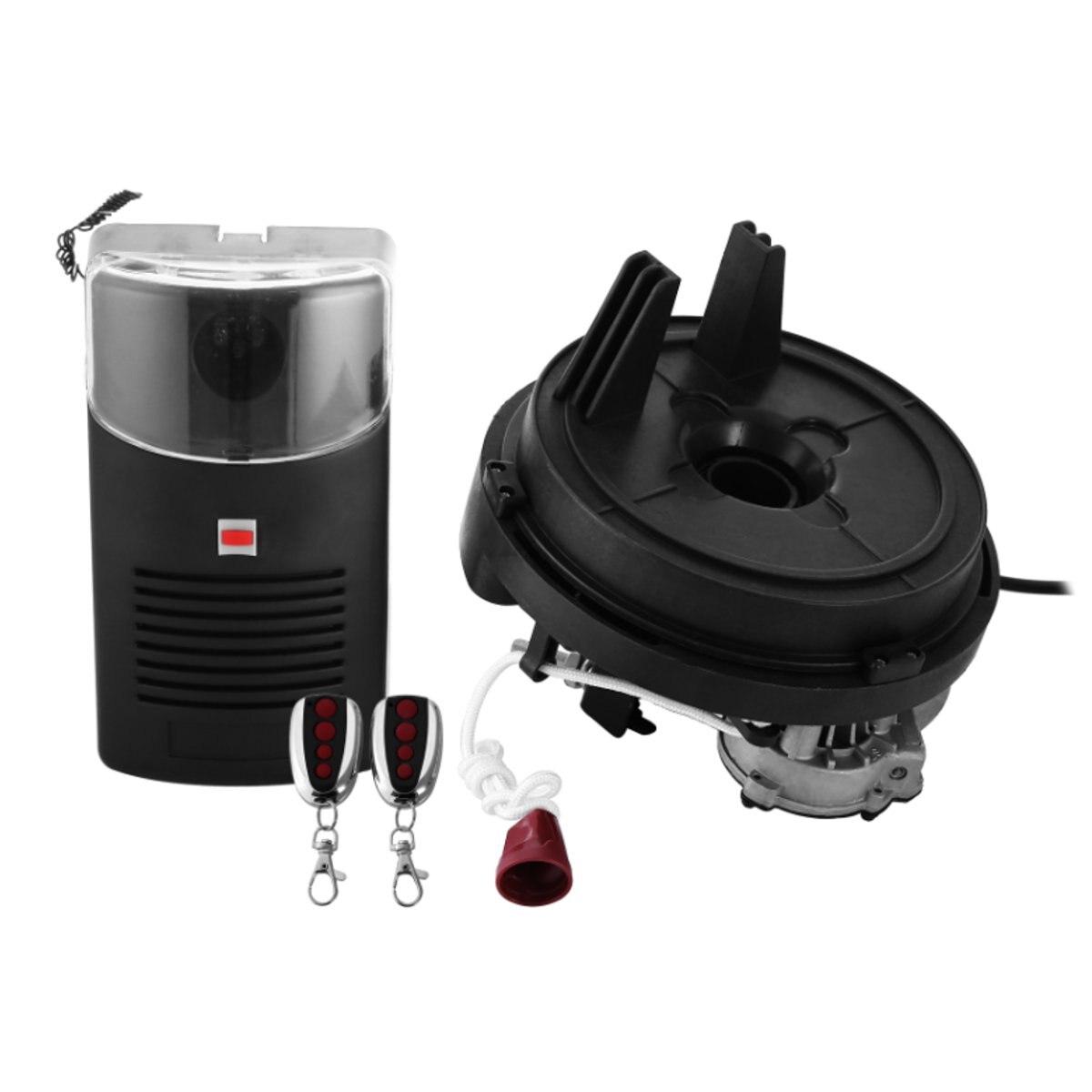 80 W 433 MHZ 250N ouvre-porte de rouleau de Garage moteur porte roulante automatique télécommande porte coulissante Machine ouvre-porte électrique - 2