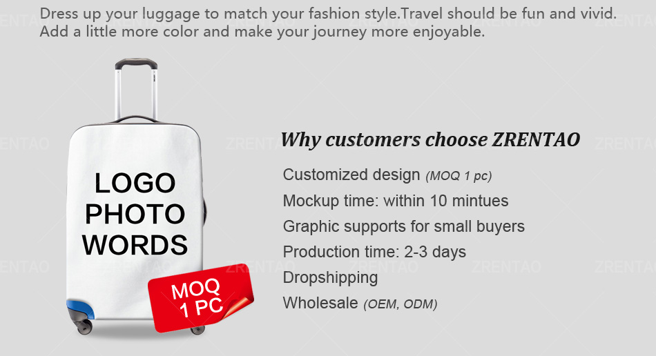 luggage cover XL 8