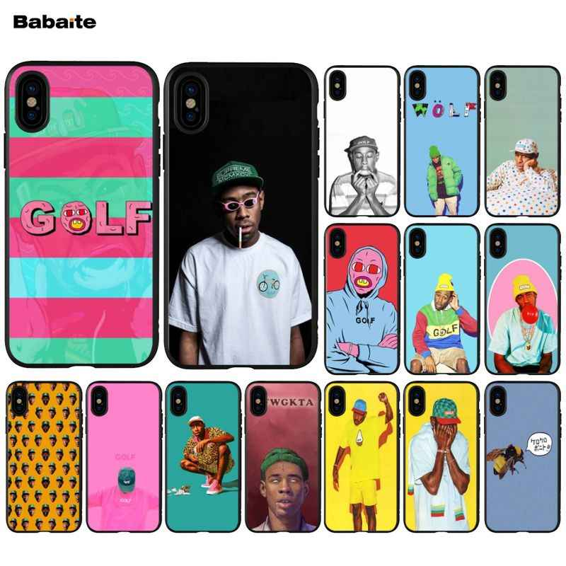 Babaite tyler the creator Painted Cover Style Soft Shell Phone Case for iPhone 5 5S  6 6S 7 7plus 8 8PlusX XS MAX XR case