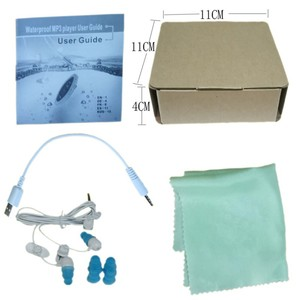 Image 5 - Portable 4GB MP3 Player Waterproof Music Player for Swimming Underwater Diving with Headset mp3 player Device