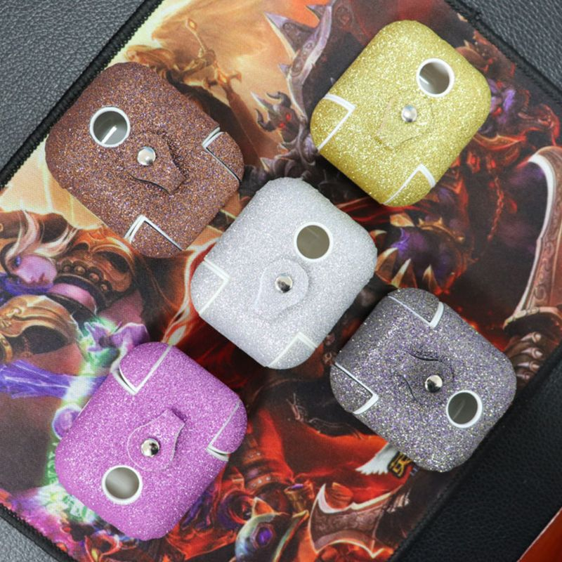 Protective Cover Earphones Charging Case Bright Shockproof Accessories Portable for Apple Airpods Headphones in Earphone Accessories from Consumer Electronics