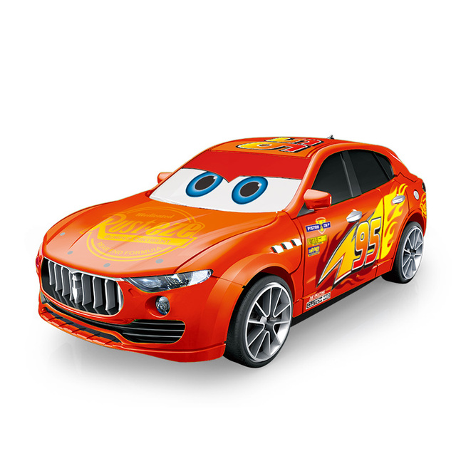 Transformation Car Models Robot Action figure like Mcqueen  1:43