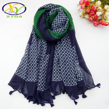 1PC New Cotton Women Long Scarf Fringes 2019 Spring Soft Lady Polyester Wraps Thin Summer Female Tassel Shawls Muslim Scarves
