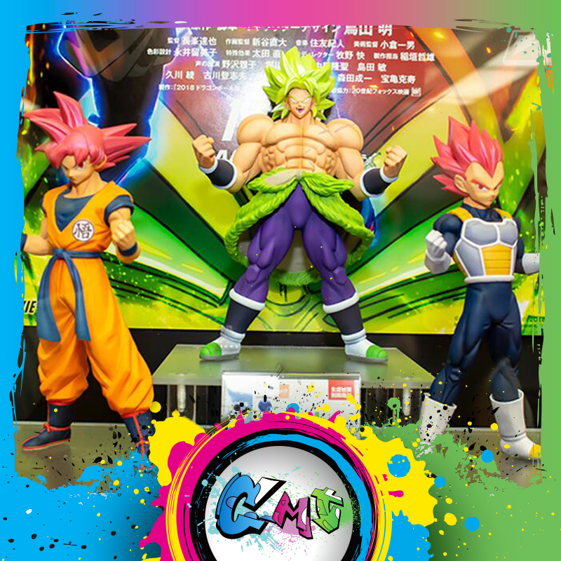Dragon Ball Broly Full Movie: CMT Banpresto Dragon Ball Super DBS Movie Cyokoku Buyuden