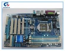 Бесплатная доставка оригинальный Материнская плата Gigabyte GA-P55-US3L LGA 1156 DDR3 P55-US3L доски 16 ГБ P55 рабочего Материнская плата