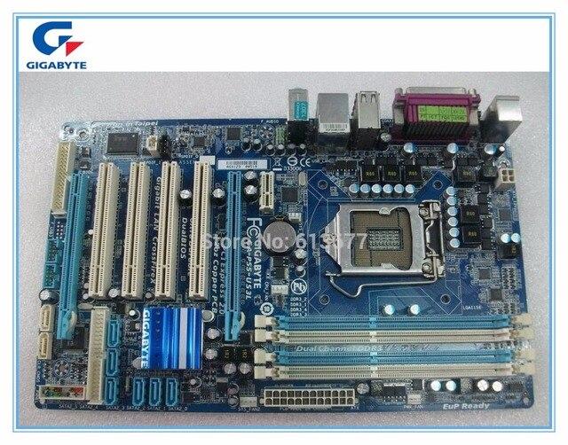 Frete grátis original motherboard Gigabyte GA-P55-UD3L P55-UD3L placas 16 GB P55 LGA 1156 DDR3 Desktop motherboard