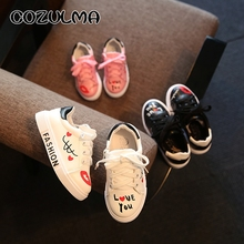 Spring Kids Casual Shoes Sneakers Boys Girls Sport Shoes Toddler Little Kids Big Kids Boys Cute Sneakers Letters Shoes