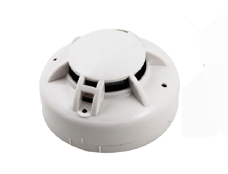 10-30VDC 1W Smoke sensor detector Fire alarm smog modbus 485 secondary development RS485 interface Smoke transducer