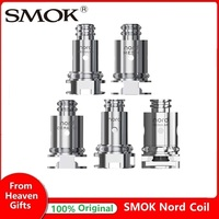 Original 5pcs/10pcs SMOK Nord Replacement Coil with 1.4ohm Coil & 0.6ohm Coil Head for SMOK Nord Pod Kit Vape Vaporizer