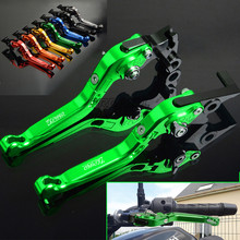 For Kawasaki ZR750 ZR 750 ZEPHYR Motorbike Levers Aluminum Motorcycle Brake Clutch Foldable Extendable Adjustable