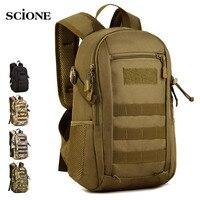 12L mini Travel Bags Tactical Backpack Camping Bag Army Military Backpacks Hiking Bag mochila Outdoor Sports Rucksack xa613WA