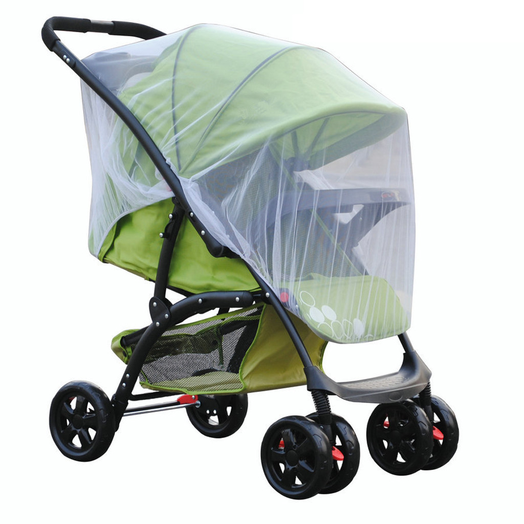 Baby Stroller Handle Cover Accessories Yoyo Yoya Stroller Accessories Pushchair Pram Mosquito Fly Insect Net Mesh Buggy Cover