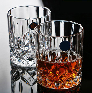 Image 5 - Brand Wine Glass Lead free Heat Resistant Transparent Crystal Beer Whiskey Brandy Vodka Cup Multi Pattern Drinkware Bar Gifts