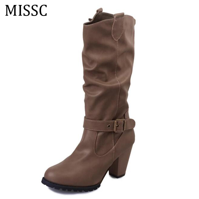 missc 2016 western s cowboy boots fashion slouchy