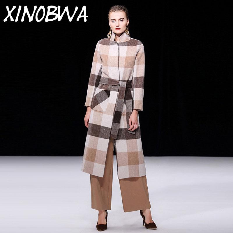 Cachemire Street Côté Manteaux Printemps Deux Laine Fashion New qTnEwSzxE