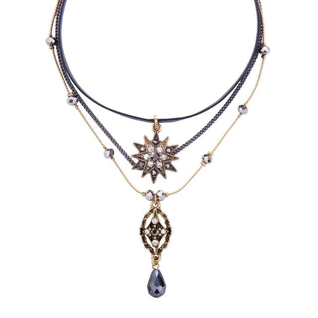 Three Layer Boho Style Necklace 2