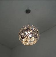 Modern Art Deco Hanging Lighting Trendy Aluminum Flowers Led Pendant Light Wedding Room Living Room Kids