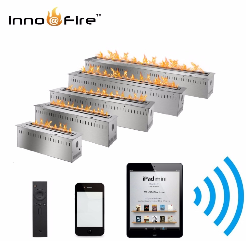 On Sale 48 Inch Intelligent Fireplace Wifi Bio Ethanol Burner