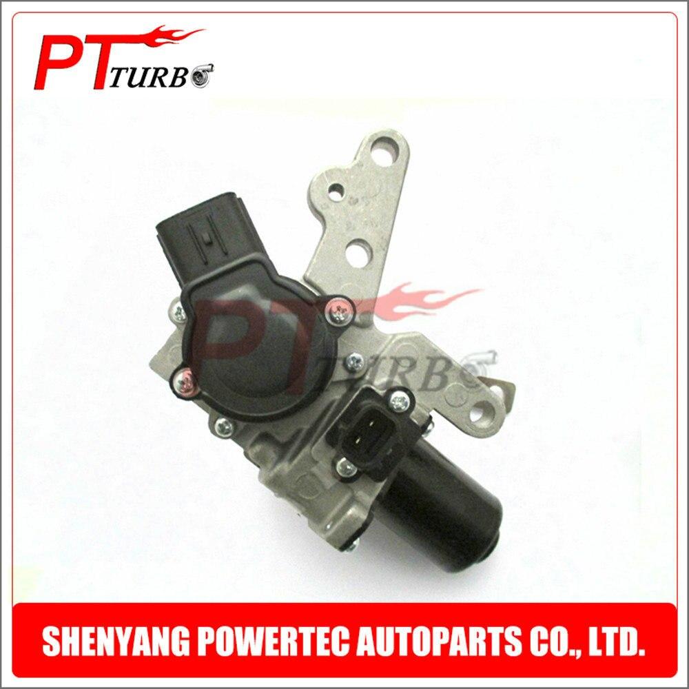 RHV4 Turbocharger Electronic Actuator 17208 51011 17208 51010 for Toyota Landcruiser V8 D 195Kw 261HP 1VD FTV VDJ76 78 79 2007