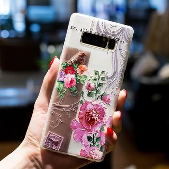 Galaxy Note 8 Case Cute TPU Bumper Protective Silicone Premium Cases