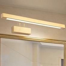 9 W/12 W/14 W/16 W LED Wand leuchte licht einstellbare spiegel front Lampe Leuchte SMD 2835 waschraum gold shell