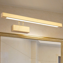 9W/12W/14W/16W LED Wall sconce light adjustable mirror front Lamp Fixture SMD 2835 washroom gold shell