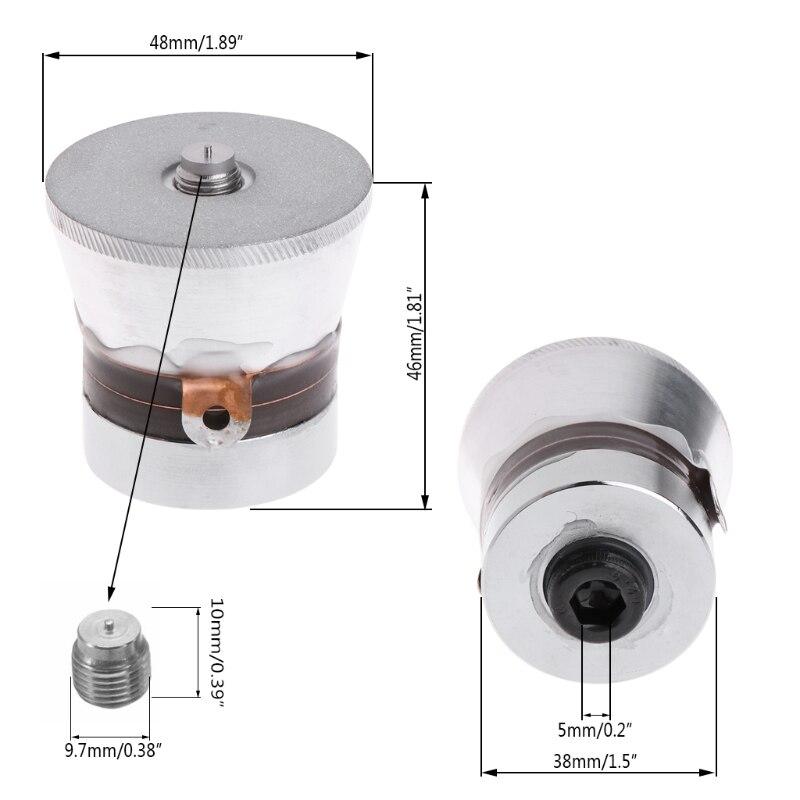 60 Вт 40 кГц ультразвуковой пьезоэлектрический чистящий преобразователь высокой производительности