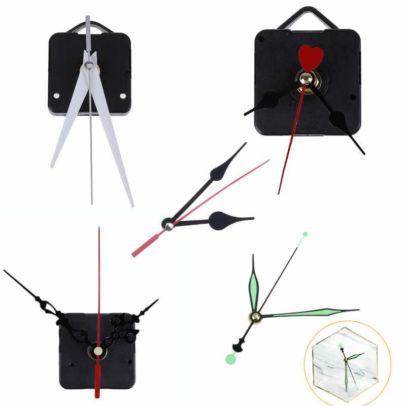 DIY Clock Mekanisme Parts Klasik Gantung Hitam Kuarsa Watch Jam Dinding Gerakan QUARTZ Gerakan Jam Dinding