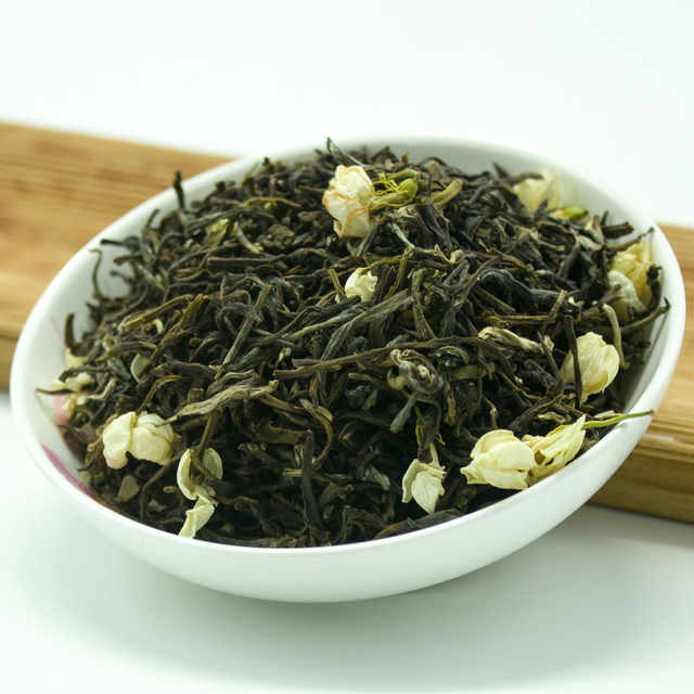 250g Top Grade Jasmine Green Tea  Organic Chinese Jasmine Tea The Organic Jasmine Flower or Chinese Kung Fu Tea Set