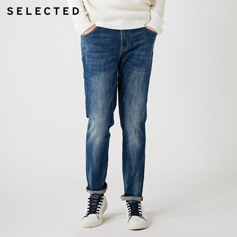 Select Blackrock nouveaux hommes hiver avec coton blanc Stretch meulage conique mâle jean C  418432538-in Jeans from Vêtements homme on AliExpress - 11.11_Double 11_Singles' Day 1