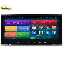NAVITOPIA 1024*600 8.8Inch Quad Core Android 4.4 Car Radio for VW Old Touareg 2003-2010 With Bluetooth 16GB Nand Flash 3G Wifi