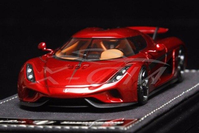 6212 Modèle De Voiture En Résine Sophiart Koenigsegg Regera 143 Rouge Petit Cadeau Dans Sous Pression Et Véhicules Jouets De Jouets Et