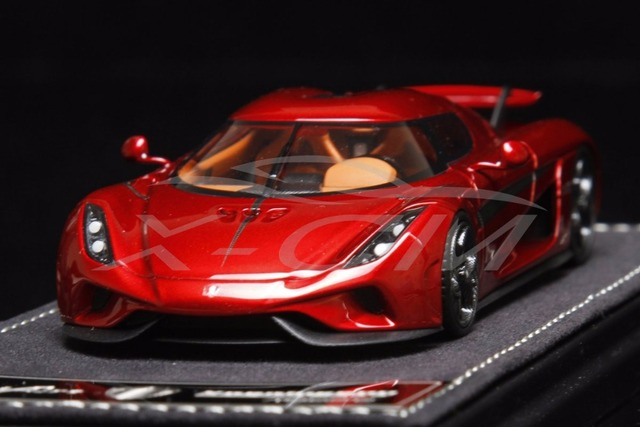 Resin Car Model SophiArt Koenigsegg Regera 1:43 (Red) + SMALL GIFT on