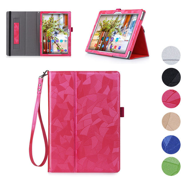 High Quality Leather Flip Case For Lenovo Tab 2 A10-30F A10-70F A10-30 X30 x30f  Cover Tablet Funda for tab3 10 TB3-X70 TAB-X103