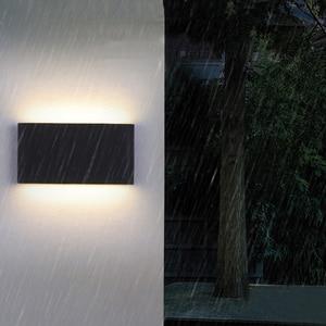 Image 5 - Brief LED  waterproof indoor wall light modern aluminum wall lamp sconce outdoor stair bathroom garden porch bedroom mirror lamp