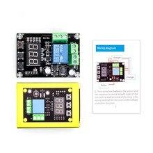 VHM 008 batterie laden und entladen modul integrierte spannung meter unter spannung überspannung schutz timing lade eine
