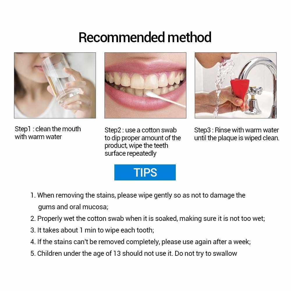 LANBENA отбеливание зубов пудра с эссенцией гигиена полости рта Очищающая сыворотка удаляет пятна налета отбеливание зубов стоматологические инструменты зубная паста