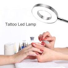 Accesorios de maquillaje permanente, luz Led para tatuaje, accesorios de lámpara para Microblading, extensión de pestañas, salón de belleza